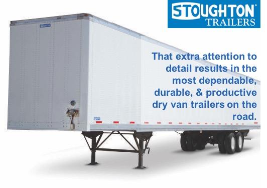 Stoughton Trailers Dry Van Semi Trailer