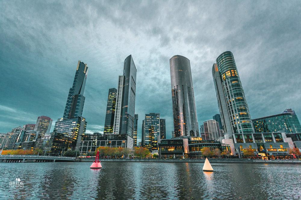 View from Flinders Walk, Melbourne,