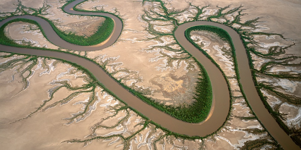 Forrest River, Kimberley, Western Australia, Australia.  A tidal river system, north-west of  Wyndham.
