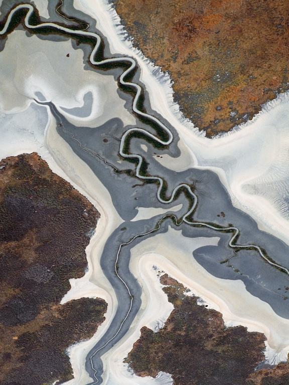 Coastal river pattern, Northern Territory, 2004.