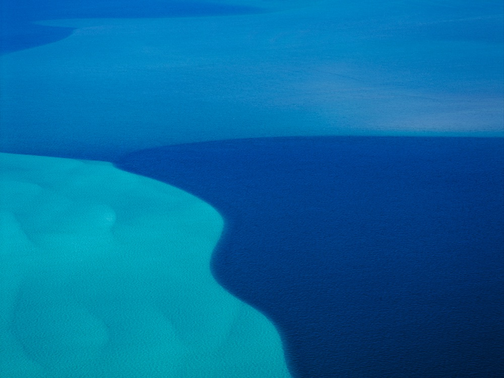Ocean between Ningaloo Reef and Coral Bay, Western Australia, 2006.
