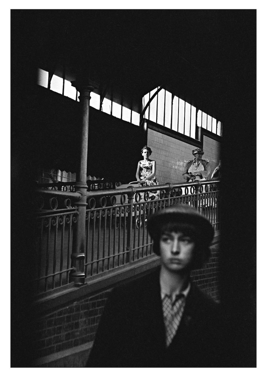 Flinders Street Station, Melbourne, Victoria, 1961