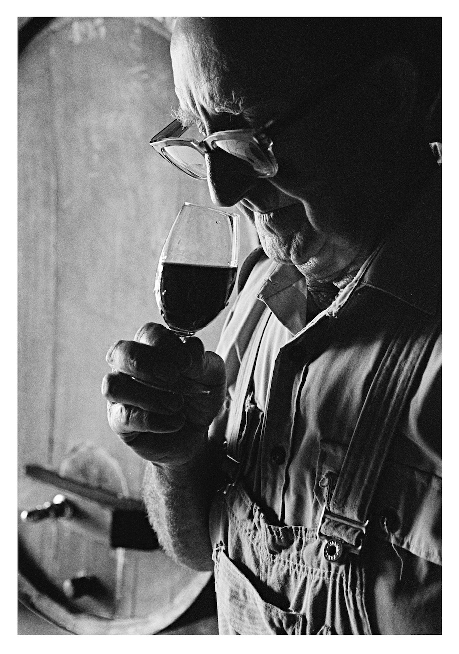 Jack Mann, Houghton Vineyard, Swan Valley WA, 1970