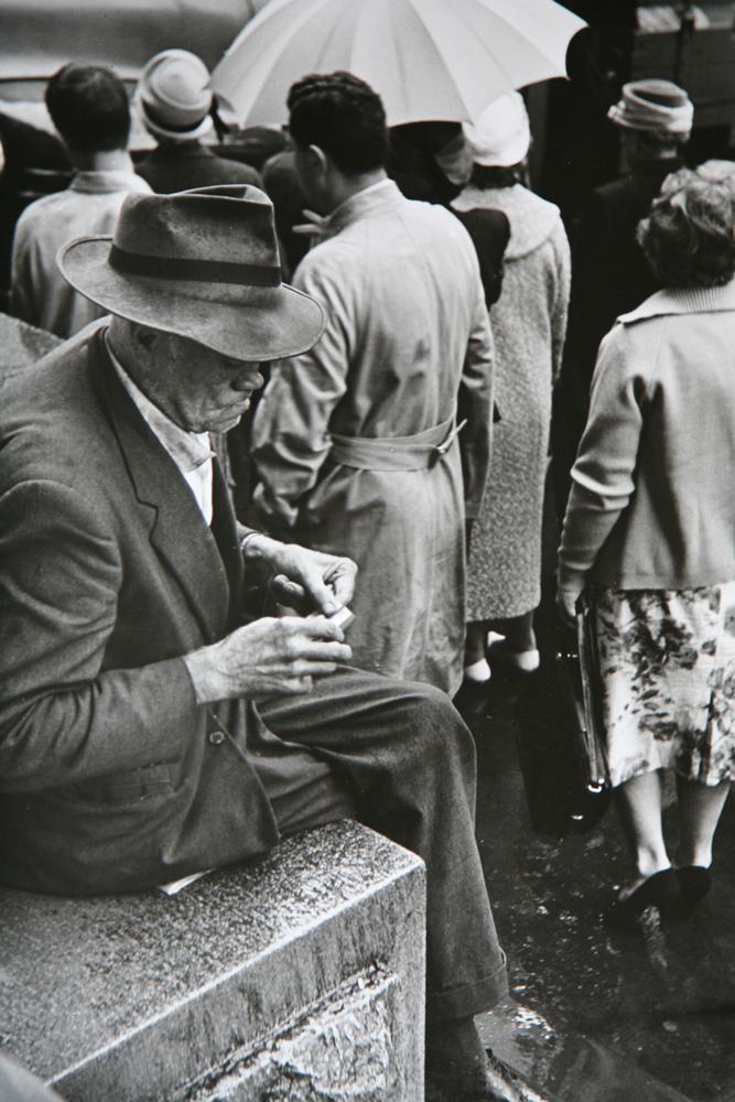 Flinders Street corner, Melbourne VIC, 1962