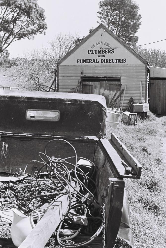 Plumbers and Funeral Directors, Esperance WA, 1968