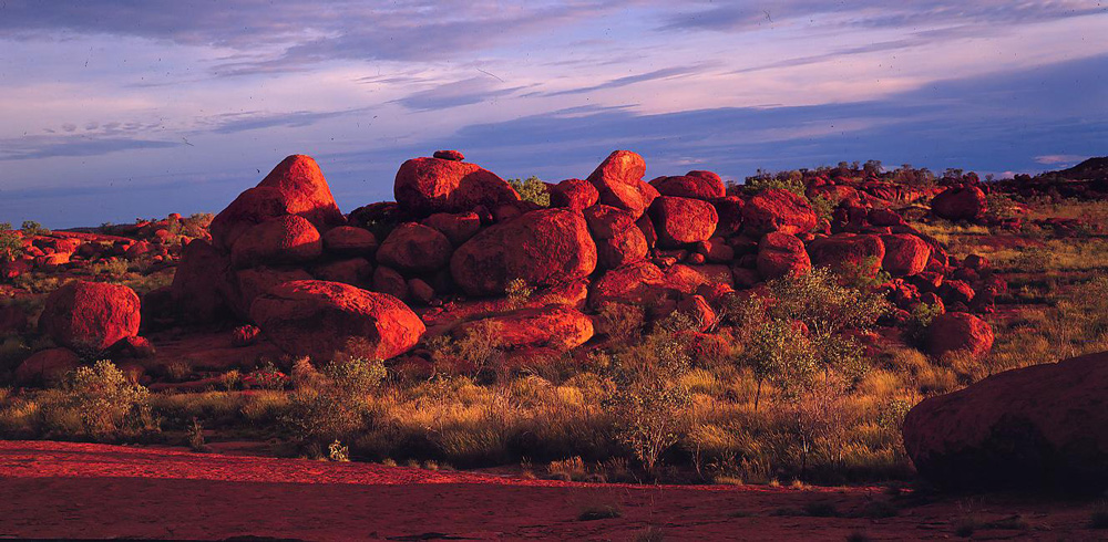 Boulders in Chichester Range, Western Australia.