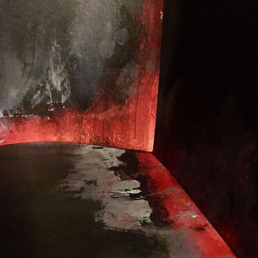 Dark Red Corner