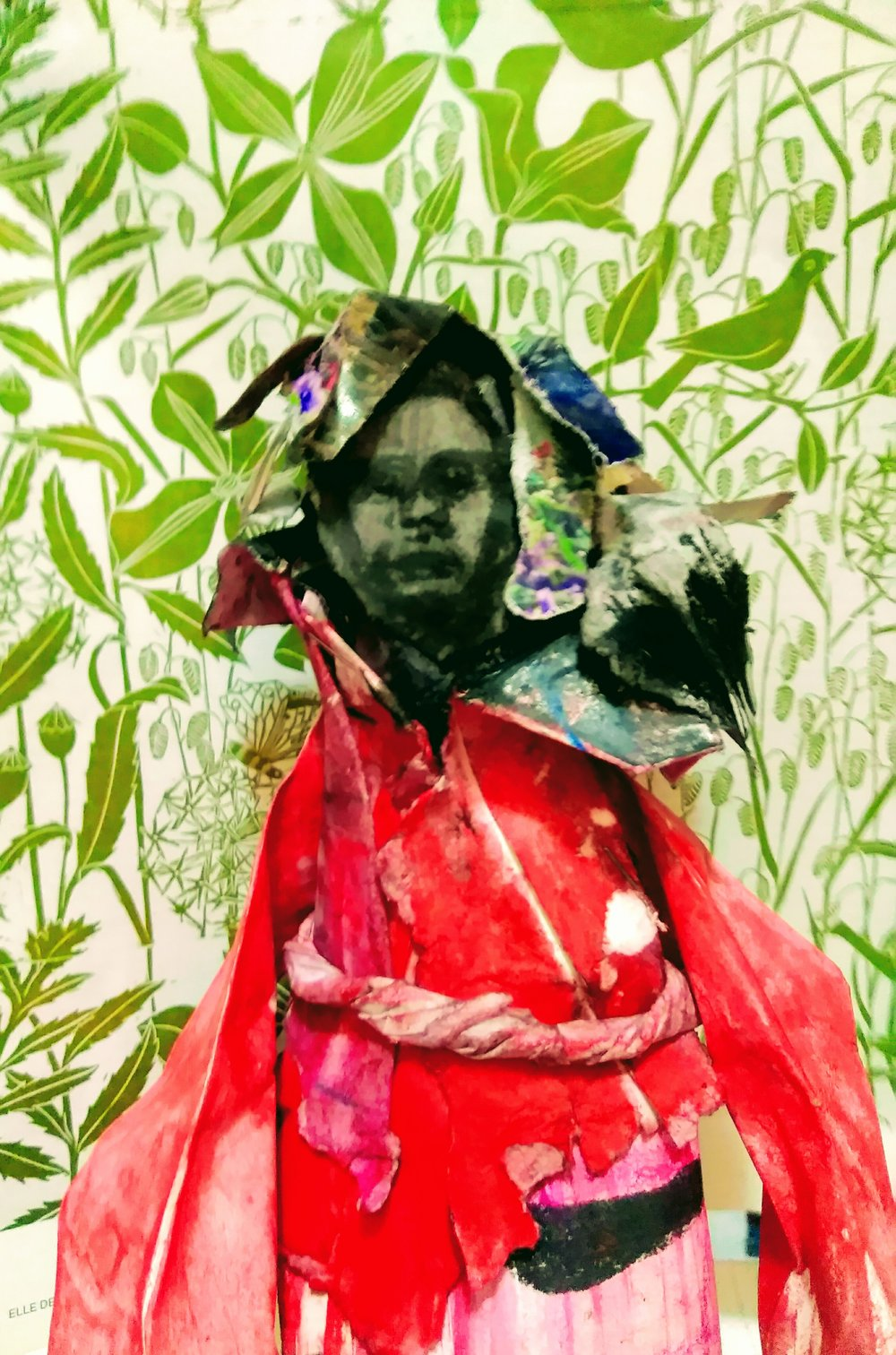 Paper Kimono Man