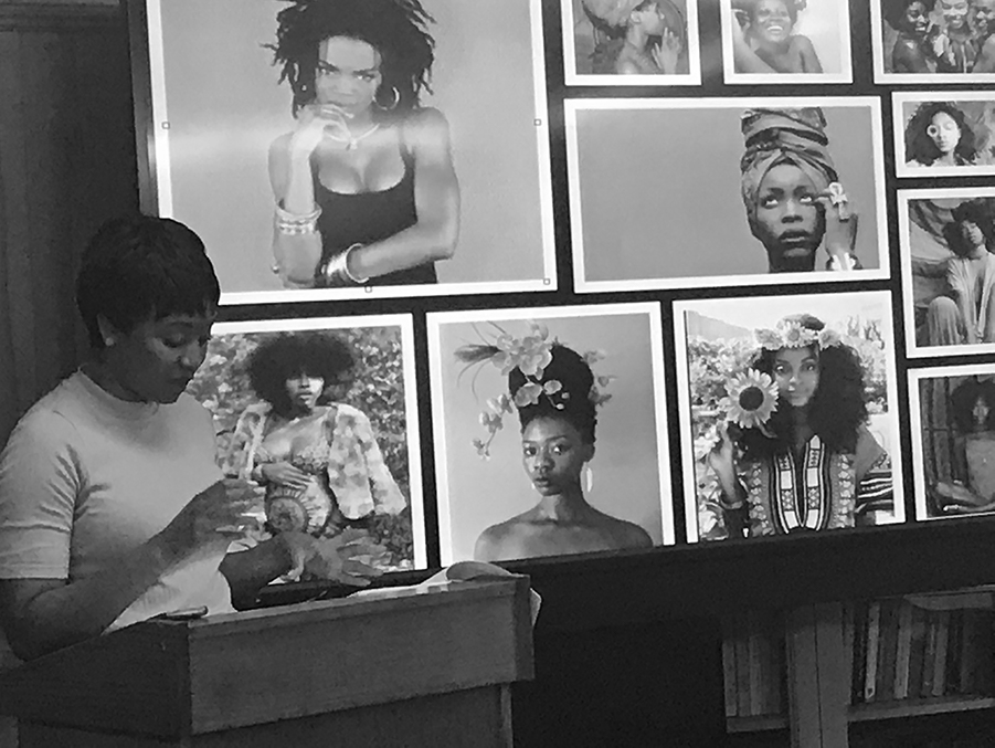 African and African American Studies 2017 senior presentations. Featured: Mysia Anderson.