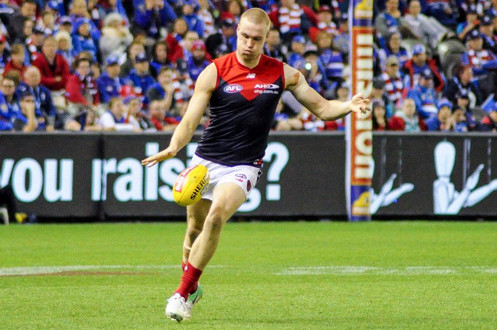 Tom McDonald has benefited from Brayshaw's elite foot skills.