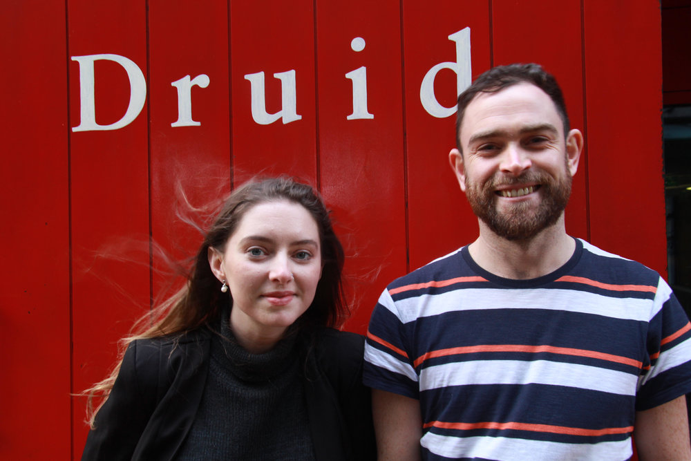 Goodbye Druid FUEL, what an experience. - Today marks the end of James' FUEL residency and how things have changed since October. We would like to thank Druid for their continuing support of the work and acknowledge the many doors they helped open. Onwards!
