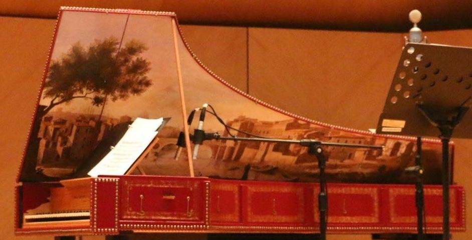 高雄、台南場將使用的義大利式大鍵琴