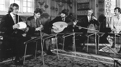芒羅與他著名的倫敦古樂團