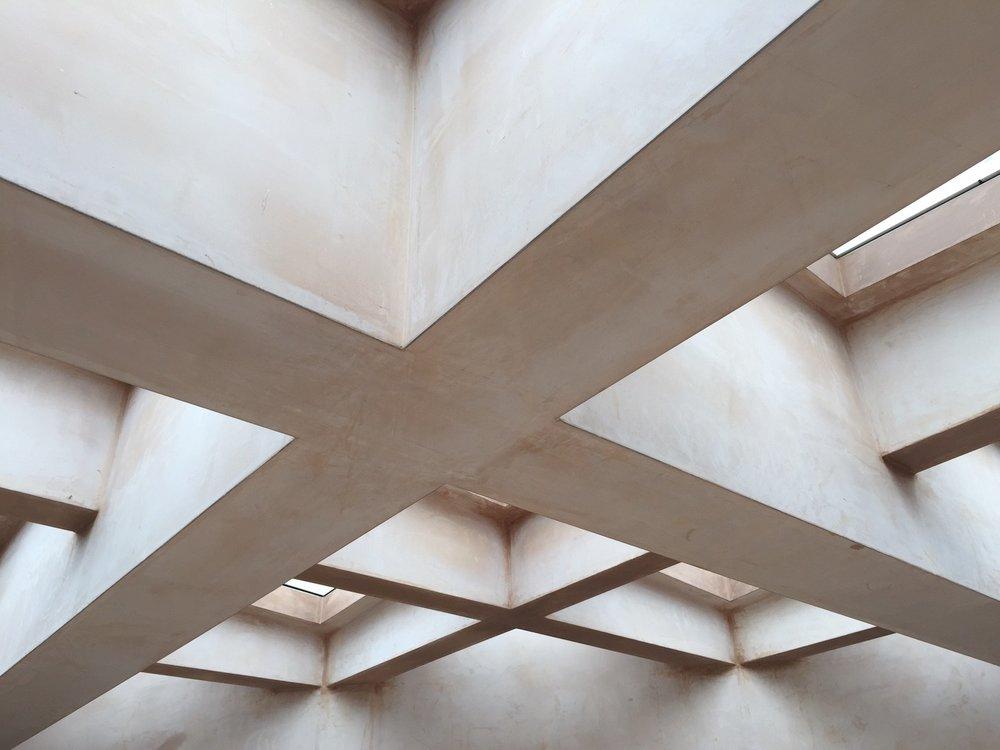 Plastering a Geometric Rooflight