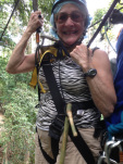 I zip-lined in Thailand and loved it!