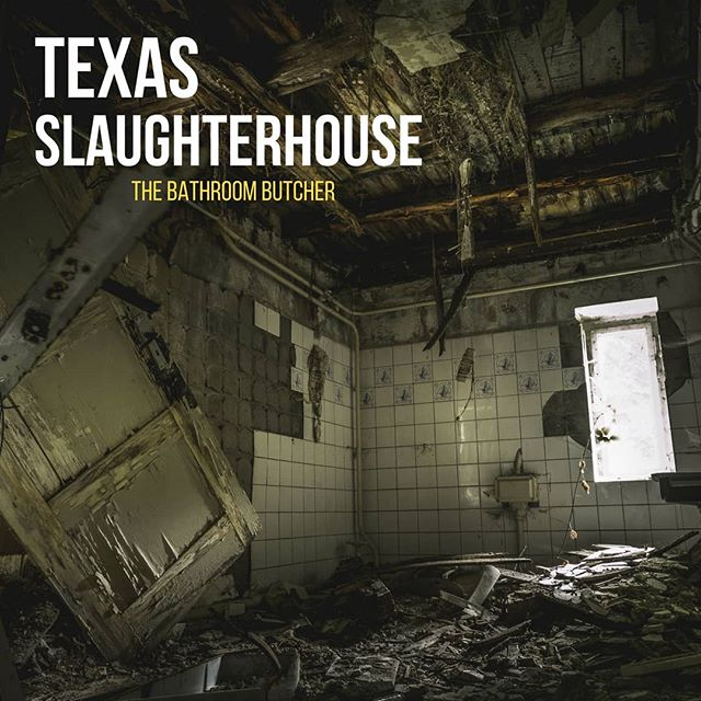 Artwork for #TheVault artist Texas Slaughterhouse's upcoming single:  The Bathroom Butcher  #metal #metalmusic #horror #guitar #thrash #bass #drums #audio #audioengineering #logicprox #musicofinstagram #bands #bandsofinstagram #albumart #single #upcomingartist