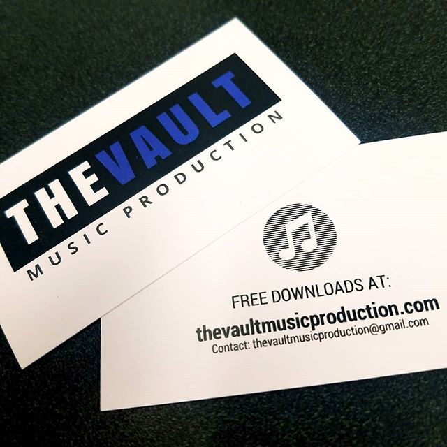 We officially have business cards!  #TheVault  #guitar #bass #drums #audio #audioengineering #music #musicproduction #metal #rock #business #bands #bandsofinstagram #musicofinstagram
