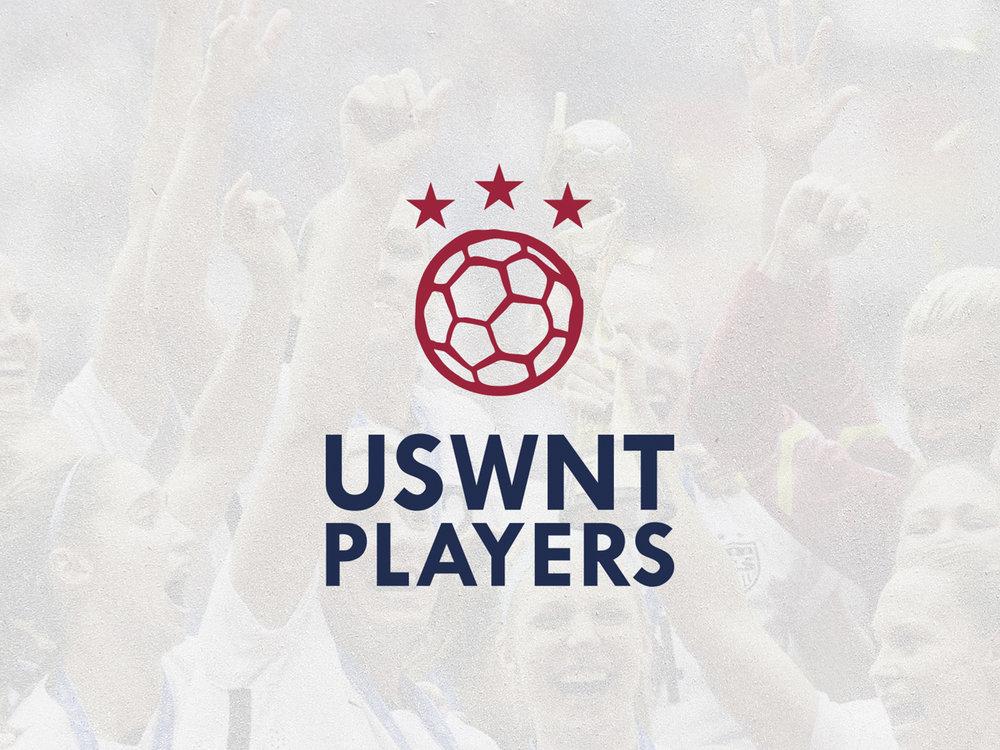 USWNT Players Logo Design