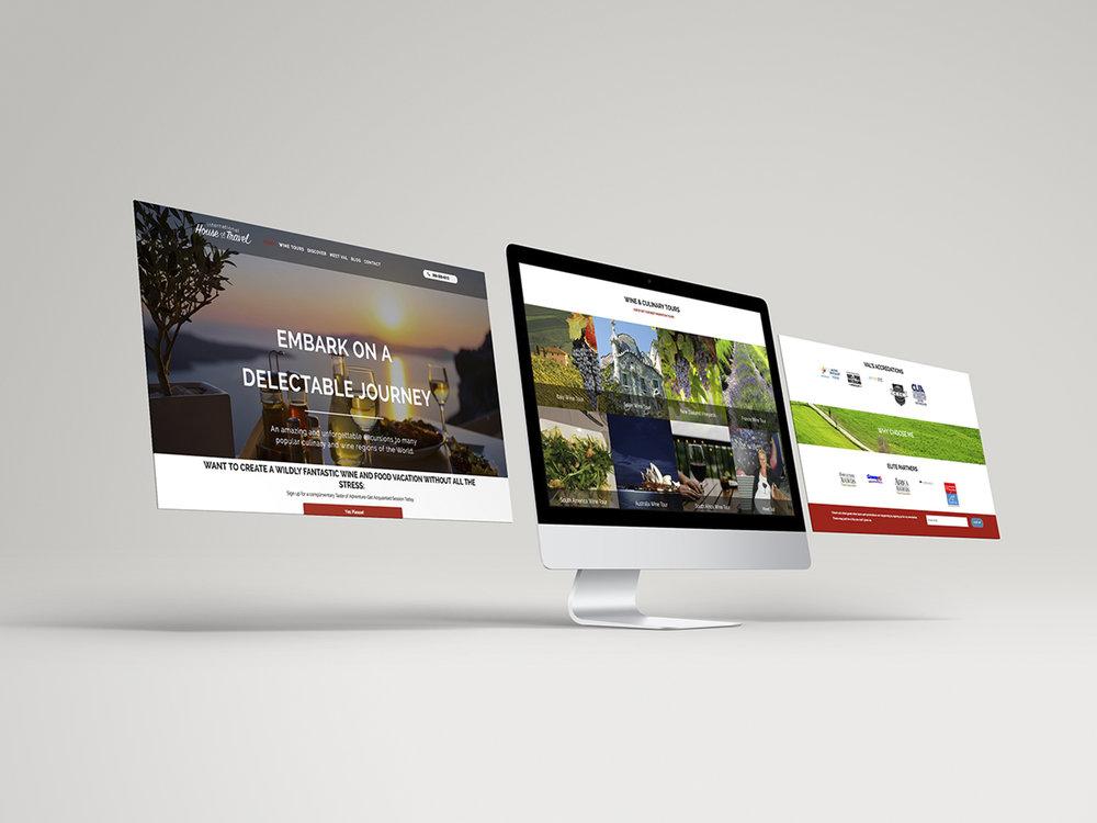 International House of Travel Website