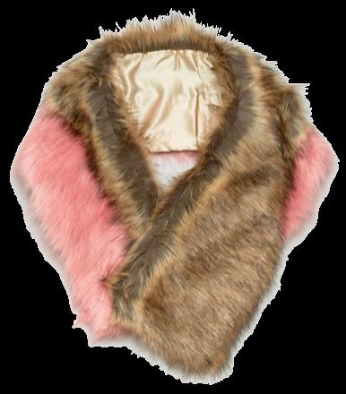 ASOS faux-fur scarf