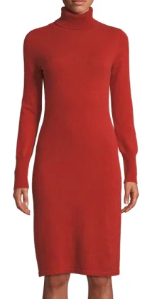 Neiman Marcus Cashmere Collection sweater dress