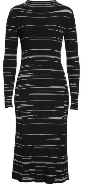 Hugo Silby Stripe Sweater Dress