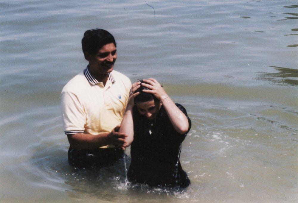 Baptism at Cross Lake