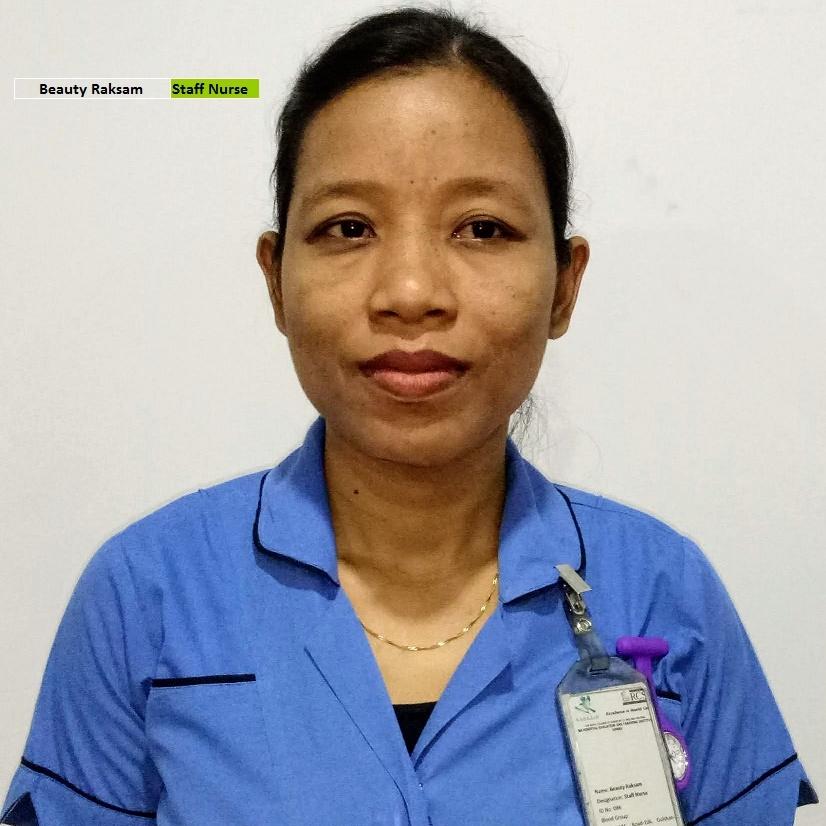 Beauty Raksam - Staff Nurse