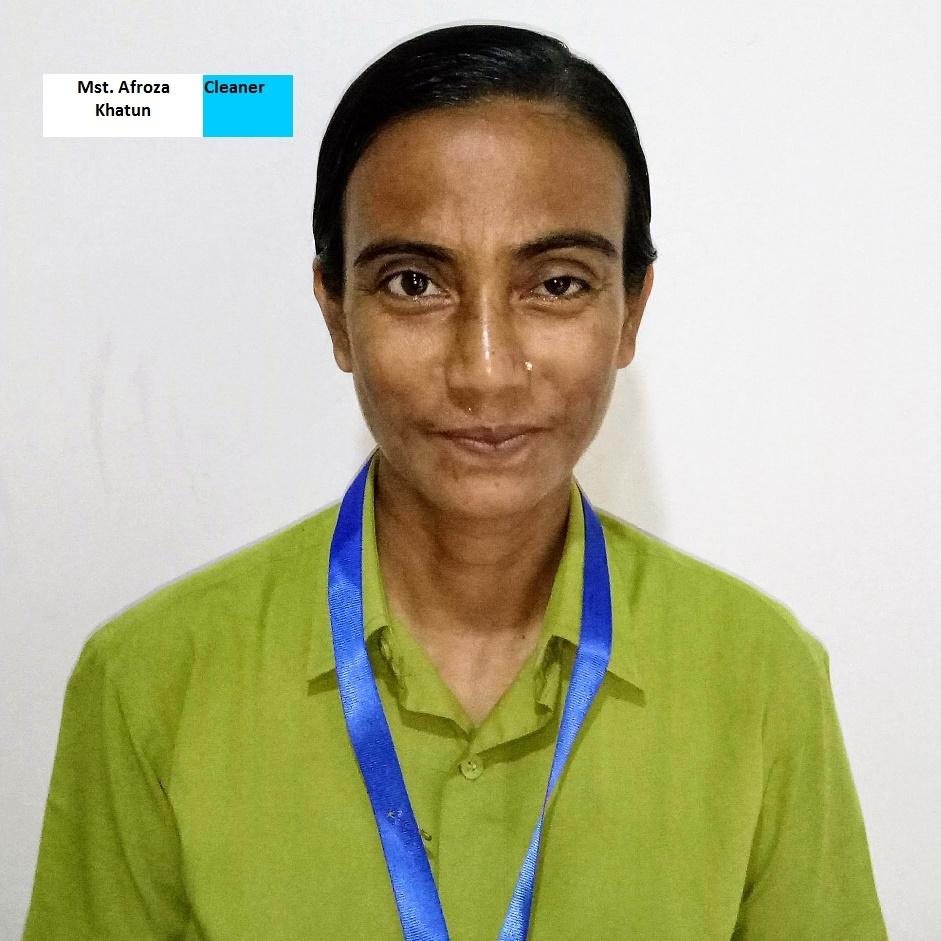 Afroza Khatun - Housekeeper
