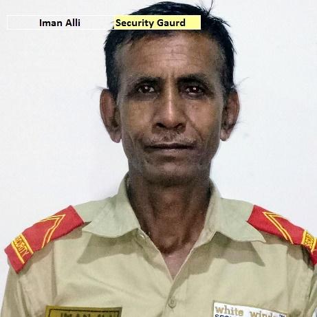 Iman Ali - Security Guard