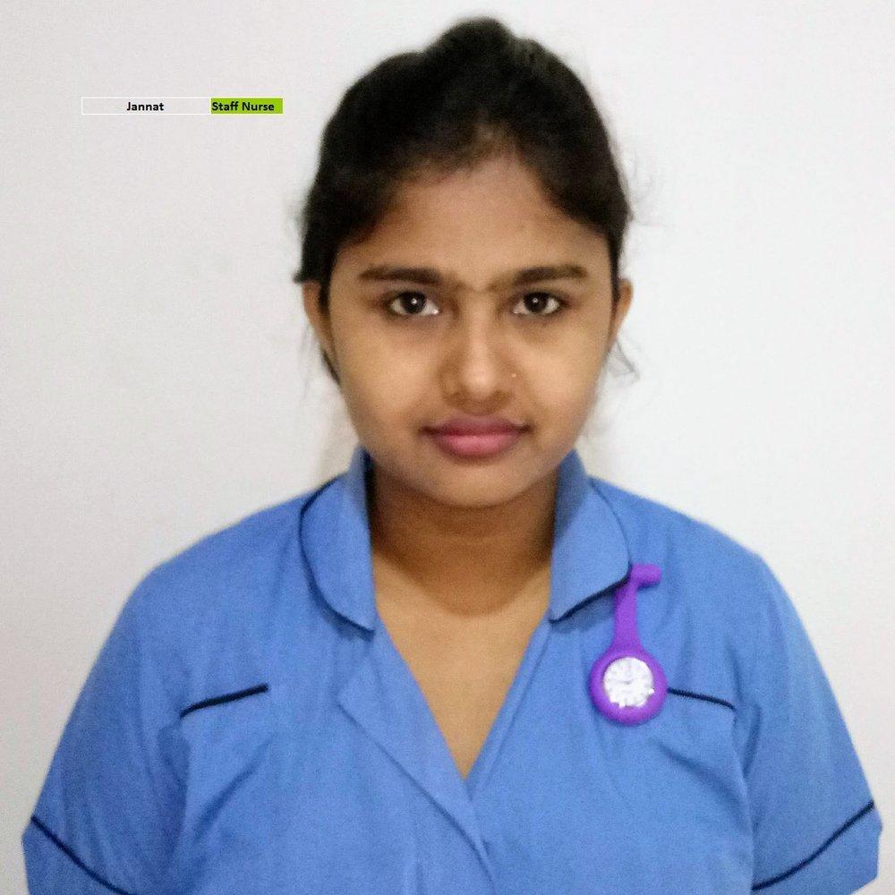 Jannat - Staff Nurse