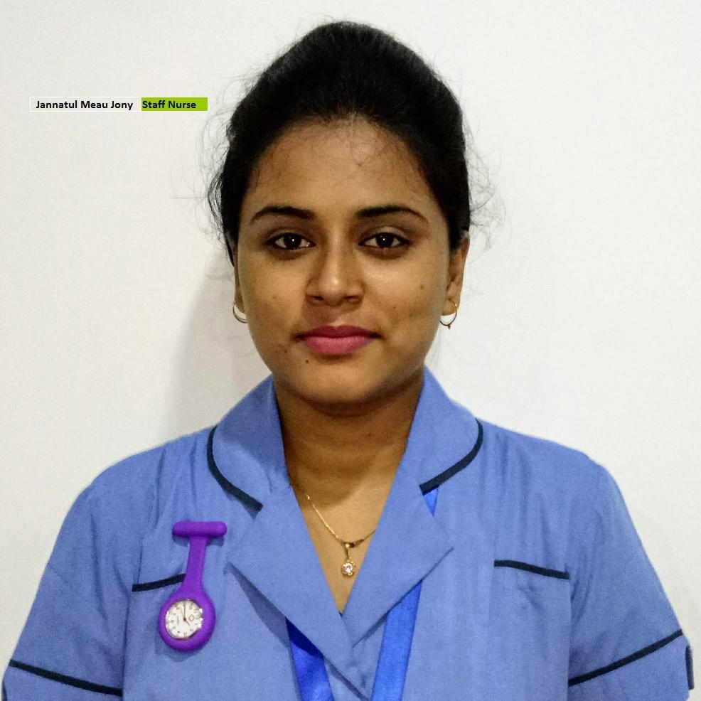 Jannatul Meau Jony - Staff Nurse