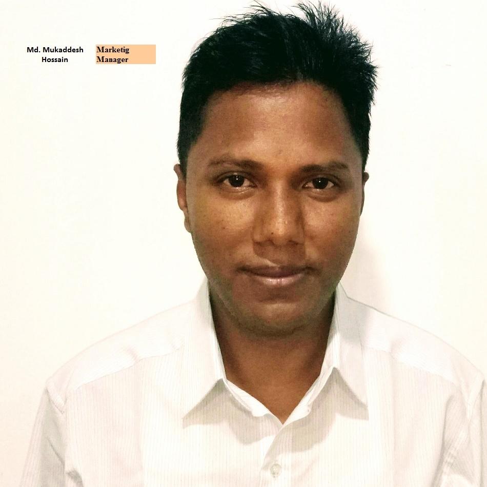 Mukaddesh Hossain - Marketing Manager