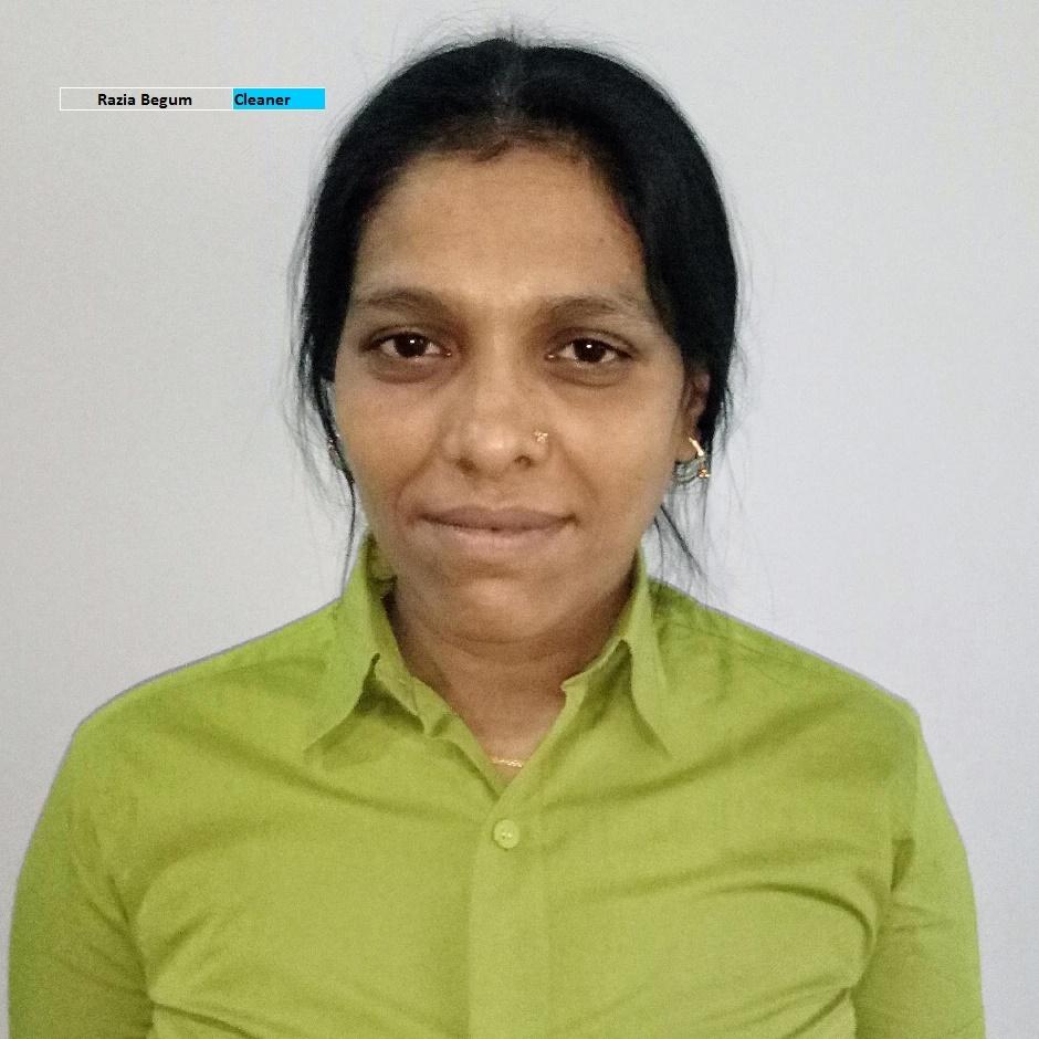 Razia Begum - Housekeeper