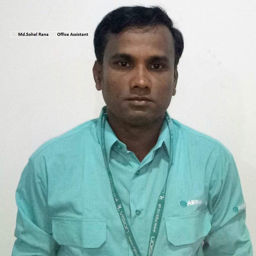 Sohel Rana - Office Assistant