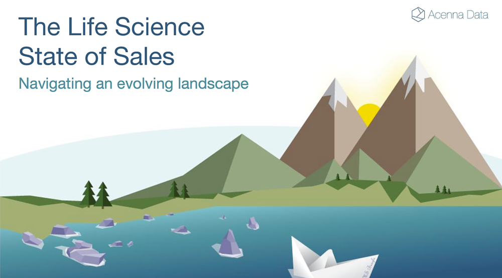 Special Report: The Life Science State of Sales - This report studies the current and imminent trends affecting sales teams in the the Life Sciences. The report examines how sales is changing from three perspectives.