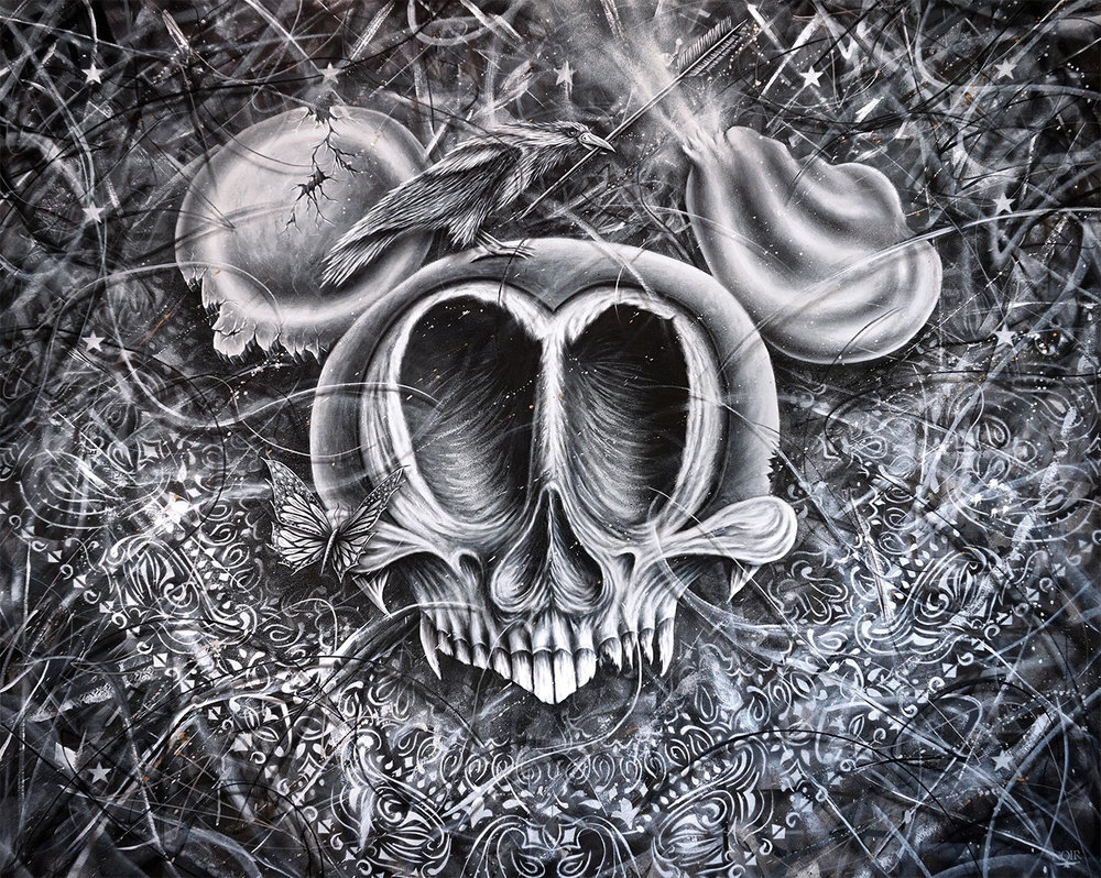 Broken Dreams - 160 x 200 cm - Acrylic on canvas -  *Available*