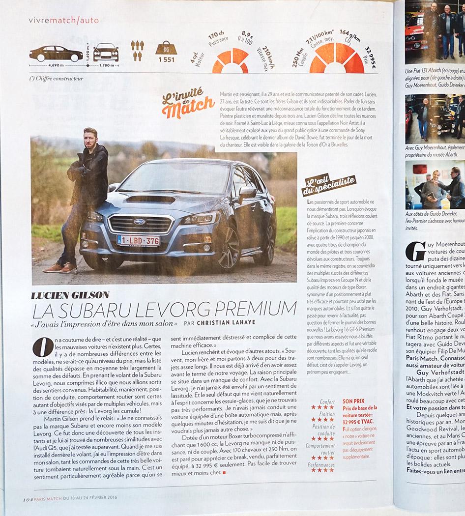 paris match  magazine - NOIR artist