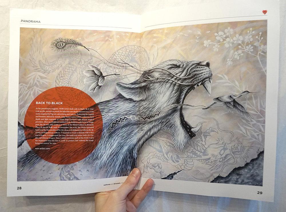 magazine - NOIR artist