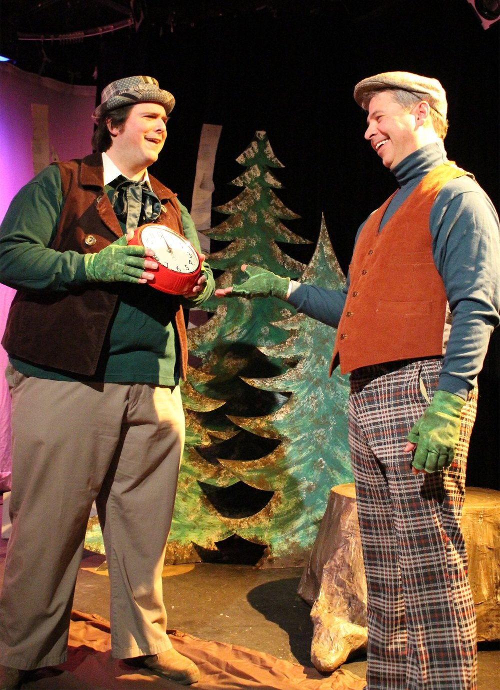 Mike Glorioso and matt stinnett in a year with frog and toad.