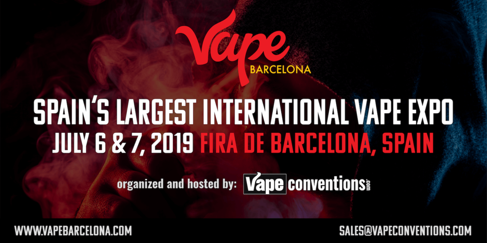Vape Barcelona Expo 2019 - Spain Vape Convention/Expo