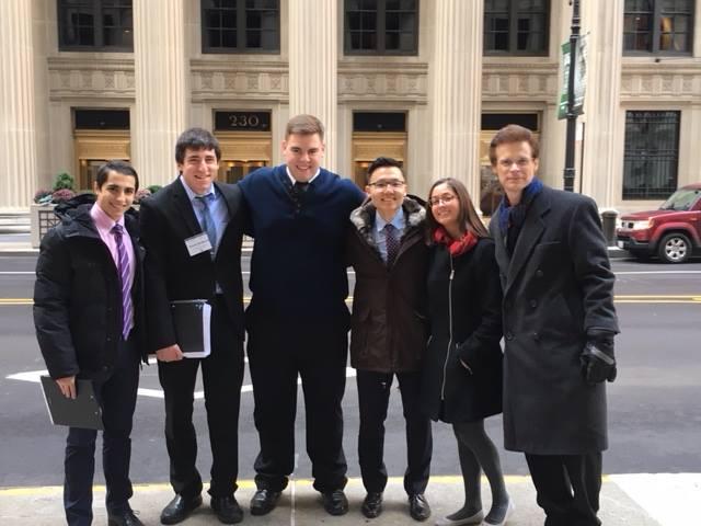 Federal Reserve Challenge Team, November 2017