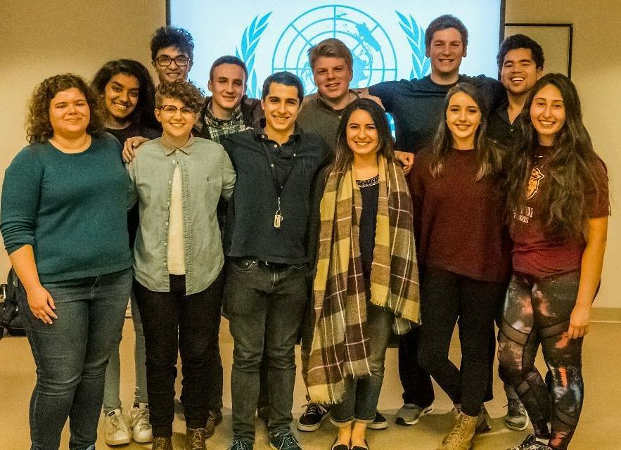 IUPUI MUN delegation to the Harvard National Model United Nations, February 2018