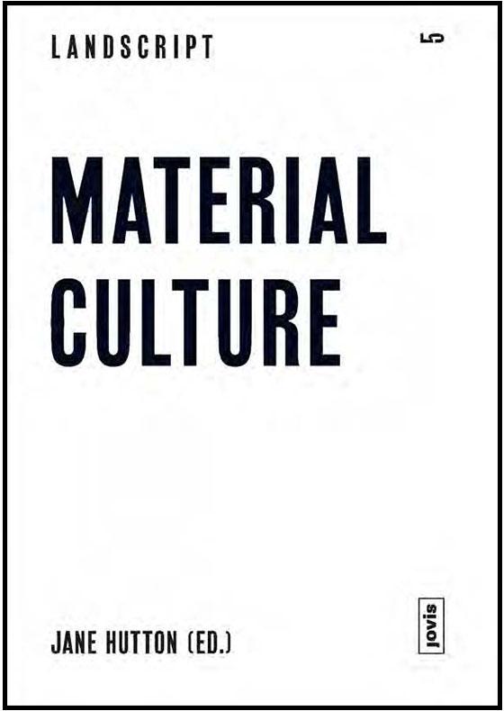 "Landscript 5: Material Culture - ""Transatlantic Memory at the Valongo Wharf, Rio de Janeiro, Brazil."" October 2017: 163-173."