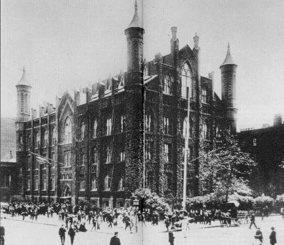 the free academy - EST.1847(1900, CCNY Archives)
