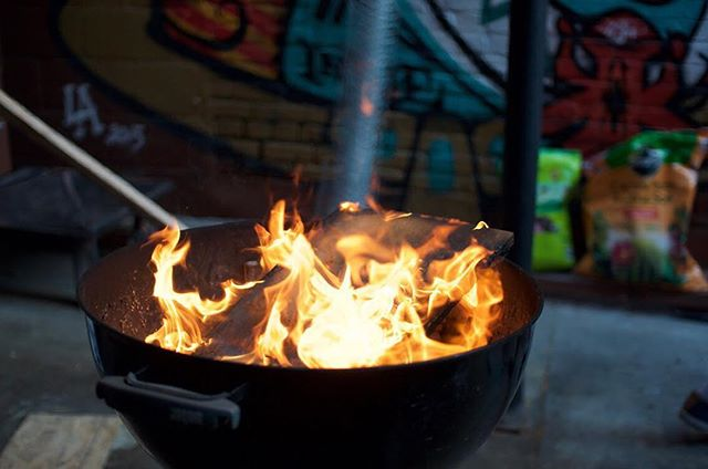 As chefs move up and refine their craft, we get fancy with our cooking, ovens, flat tops, sous videos, smokers, etc.... But we often lose track of our roots. Flames and fires is the OG way of cooking. It is the original heat source, the source of true flavor. Never lose track of your roots.
