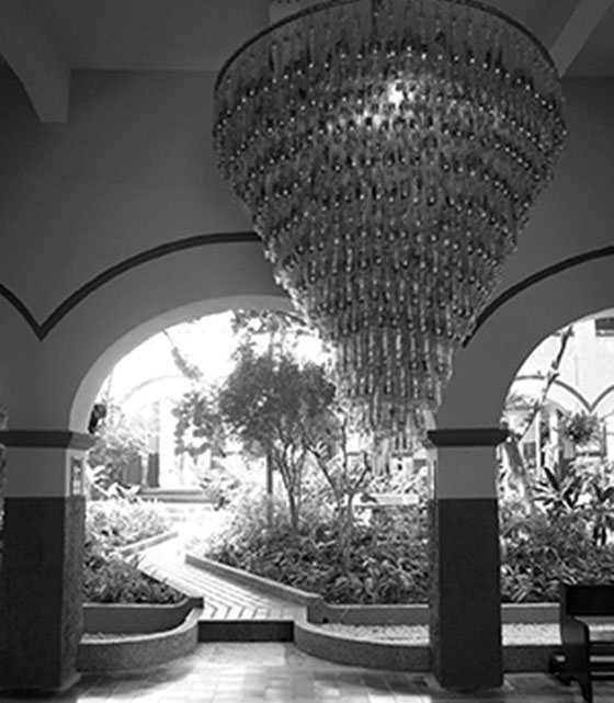 DIVINO NINO CHANDELIER,  7x10ft, CARTAGENA, COLOMBIA