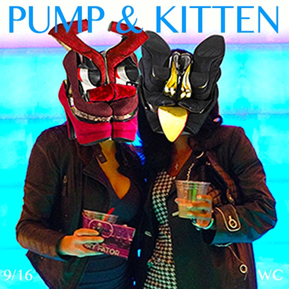 PUMP AND KITTEN