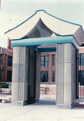 GATEWAY TO KNOWLEDGE, 1996 (commissioned by NYC Board of Education)