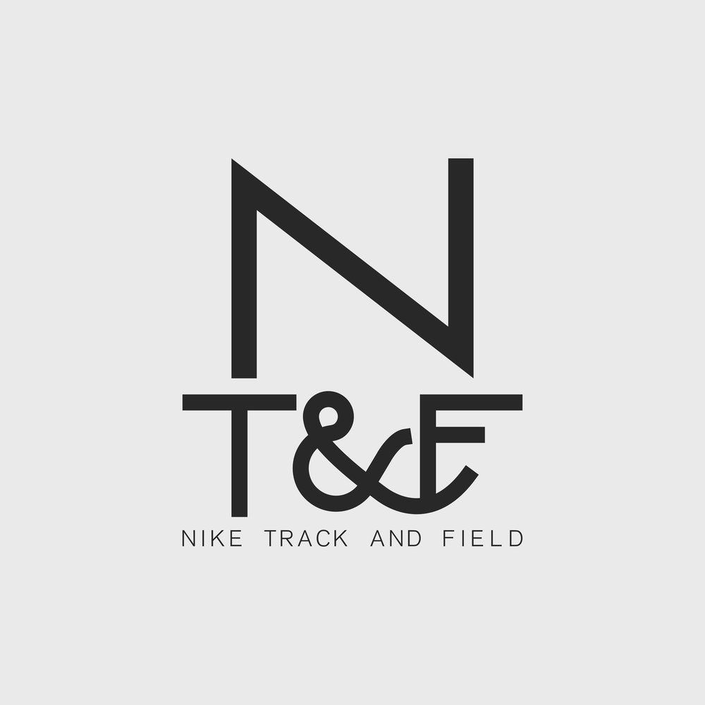 This mark is a graphic that was featured on tees in a Nike Sportswear Track & Field (running) collection.